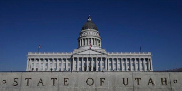 FILE - In this Jan. 26, 2015, file photo, shows the Utah State Capitol, in Salt Lake City. Utah became...