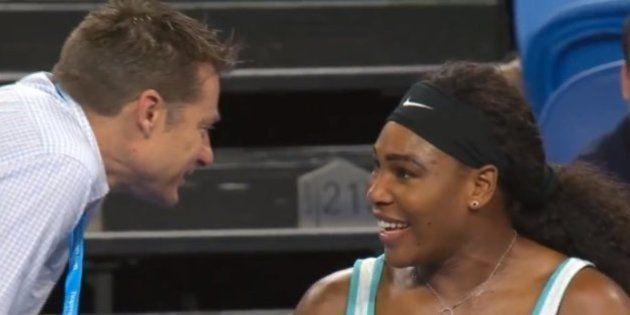 VIDÉO. Serena Williams demande un café en plein match lors de la Hopman