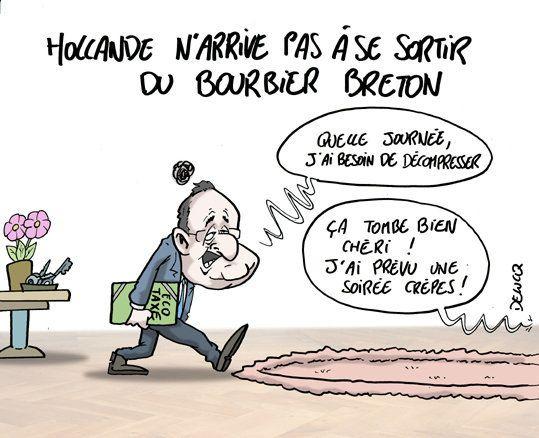 Hollande face au bourbier
