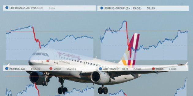 Crash de l'avion Germanwings : Airbus et Lufthansa souffrent aussi en