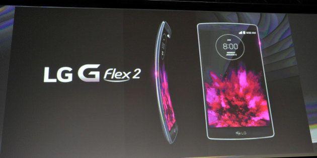 G Flex 2: LG s'inspire de la téléphonie fixe pour son smartphone