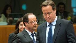 Entente glaciale: Hollande rencontre Cameron au pays du