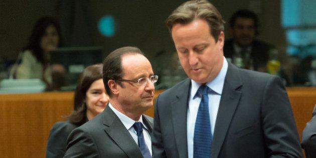 Hollande - Cameron: un sommet tendu au pays du
