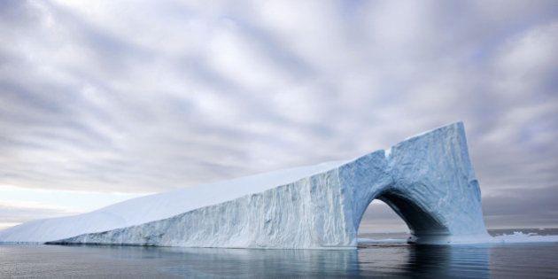 L'Arctique fond, la preuve, je l'ai