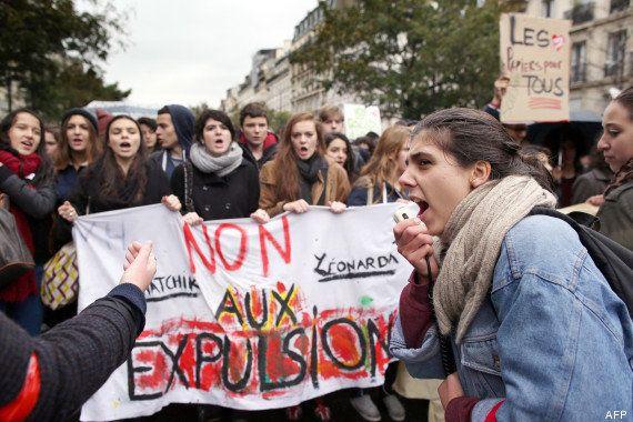 PHOTOS. Leonarda, manifestations: la mobilisation des lycéens s'essouffle à Paris et en