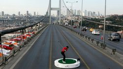 Tranquille, Tiger Woods tape des balles entre l'Asie et
