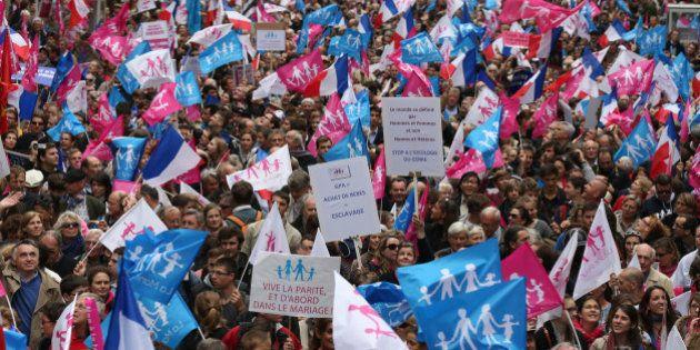 Manif pour tous: une semaine après Jour de colère, un défilé sous haute