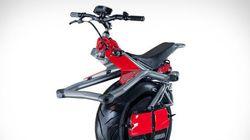 Cette moto n'a qu'une