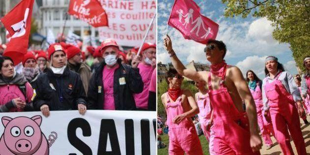 Bonnets rouges et Manif pour tous: deux mouvements opposés qui pourraient se