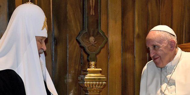 Rencontre à Cuba entre le pape François et le patriarche russe Kirill, la première depuis près de 1000