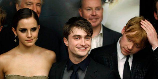 Harry et Hermione en couple, c'était le plan selon JK
