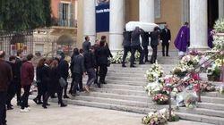 Les obsèques de Camille Muffat à