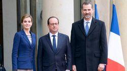 Les repas prévus pour le roi d'Espagne distribués aux plus