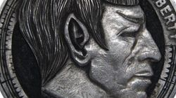 Des sculptures incroyables sur des pièces de