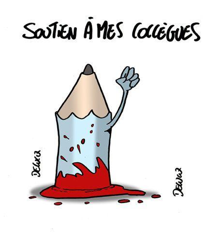 Tuerie à Charlie Hebdo: soutien à mes
