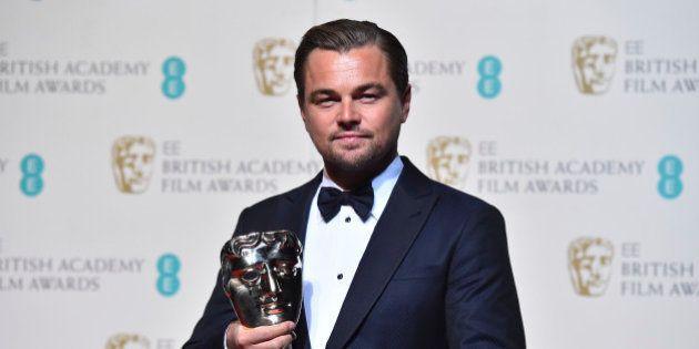 Leonardo DiCaprio triomphe aux Baftas, les Oscars britanniques, pour la première