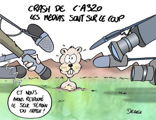 Crash de l'A320: les médias sur le