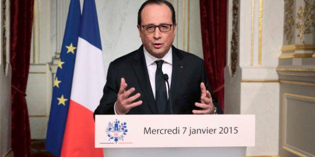 Le deuil national annoncé par François Hollande après l'attentat à Charlie Hebdo est une décision