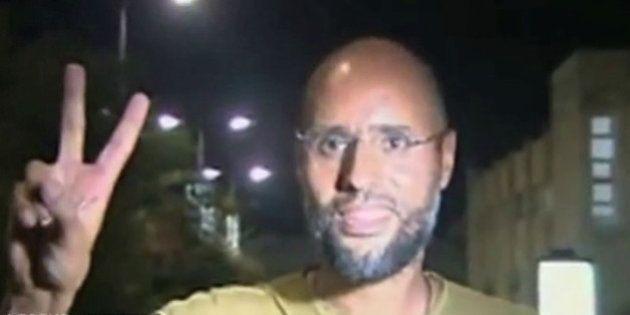 VIDÉO. Une étrange apparition de Seif Al Islam Kadhafi à la télévision