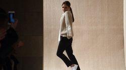 Le corset, pièce maîtresse de Victoria Beckham à la Fashion week de New