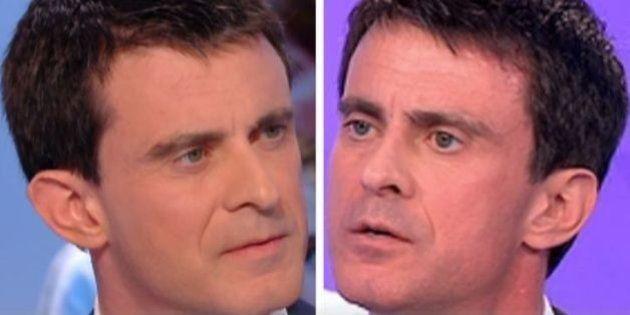 VIDÉO. Elections départementales 2015 : Entre le premier et le second tour, Valls change de