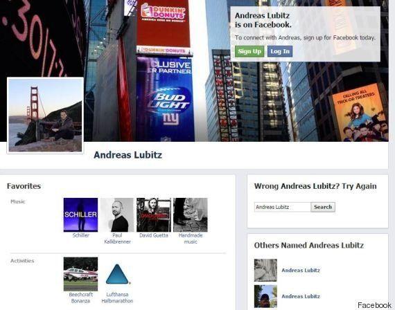 Andreas Lubitz: qui est le copilote qui a provoqué délibérément le crash de l'avion A320 de