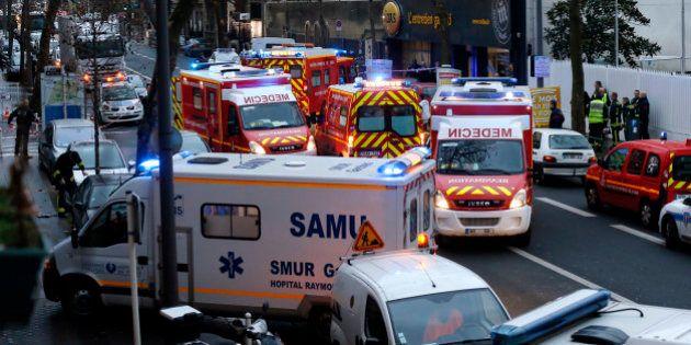 Fusillade à Montrouge: une policière décédée, un blessé grave, l'auteur des tirs toujours en