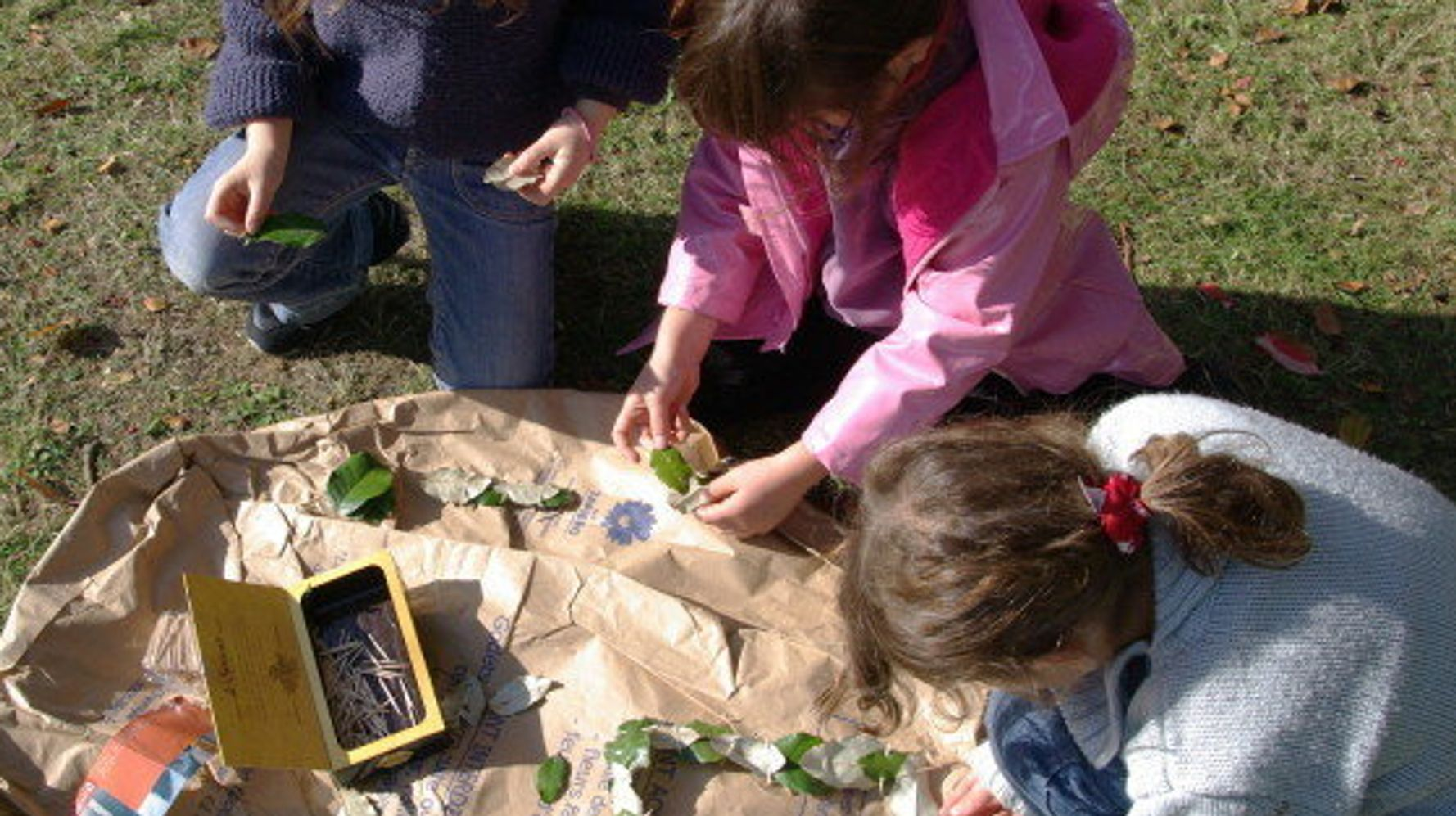Le land art, une activité en pleine nature que les enfants vont ...
