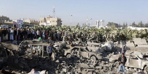 Yémen: l'Arabie saoudite intervient contre les rebelles soutenus par