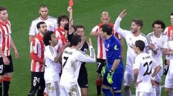 Cristiano Ronaldo expulsé : les images de sa