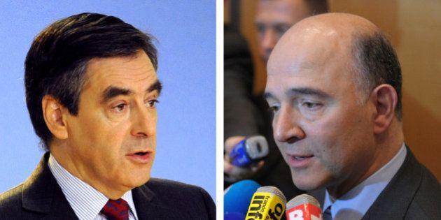 VIDÉO. Dégradations de la note de la France : le copier-coller de Fillon et Moscovici, les contradictions...