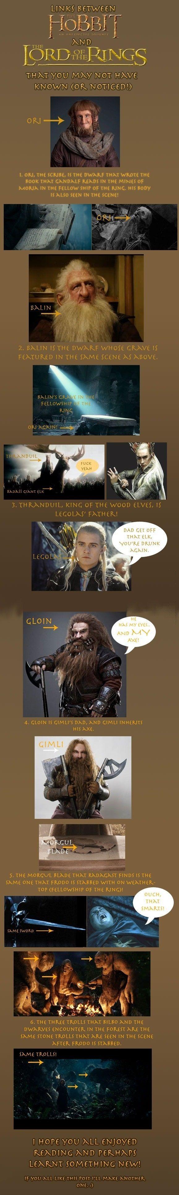 Le Hobbit: la désolation de Smaug, les clins d'œil au Seigneur des