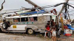 Haiyan aurait fait au moins 1200 morts aux Philippines et prend la direction du