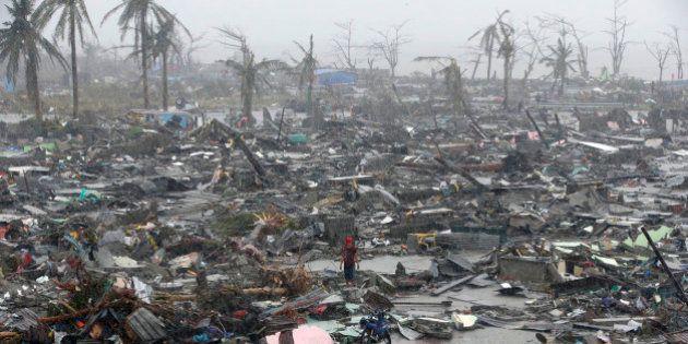 Haiyan: les autorités craignent plus de 10.000 morts aux Philippines après le