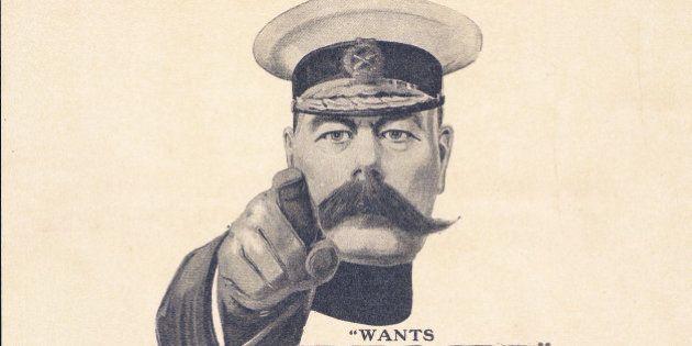 Lord Kitchener WWI recruiting
