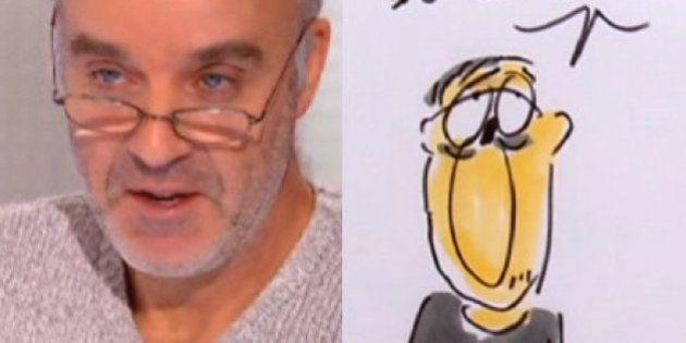 VIDÉO. Les dessins émus de Faujour, le remplaçant de Charb dans l'émission 28