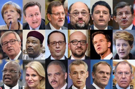 Rassemblement Charlie Hebdo dimanche à Paris: François Hollande et plusieurs chefs d'État seront