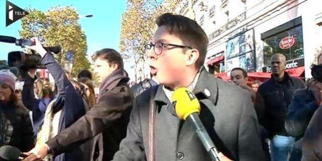 VIDÉO. Hollande hué: les internautes s'interrogent sur l'identité de l'homme qui s'en prend aux manifestants...