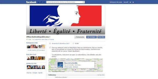 Marche des Républicains: , après les huées contre Hollande, un appel à manifester apolitique ... par...