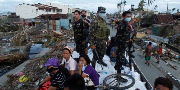 Typhon Haiyan aux Philippines: 10.000 morts dans la seule ville de Tacloban, selon