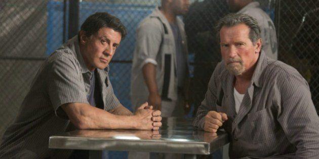 VIDÉOS. Sylvester Stallone et Arnold Schwarzenegger réunis dans