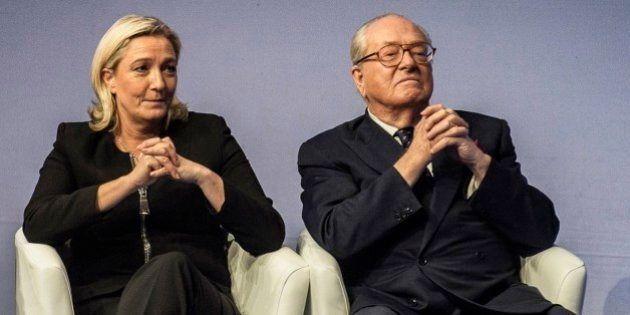 Le FN ne participe pas à la marche républicaine: Jean-Marie Le Pen annonce sa candidature aux régionales,...