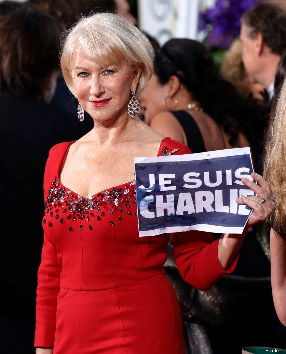 VIDÉO. Charlie Hebdo : la standing-ovation des Golden