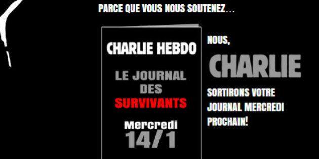 Charlie Hebdo : le numéro du mercredi 14 janvier sera traduit en 16 langues et tiré à 3 millions