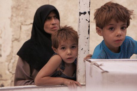 Enfants en guerre: comment j'ai pu filmer une famille