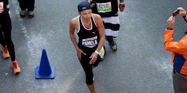 Pamela Anderson revient sur son marathon de New