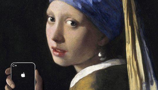 Quand les smartphones s'invitent dans des tableaux