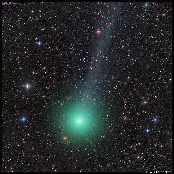 PHOTO. Ne ratez pas la comète Lovejoy, visible à l'œil nu, avant sa disparition pendant 8000