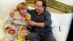 Hollande et Merkel comme vous ne les avez jamais