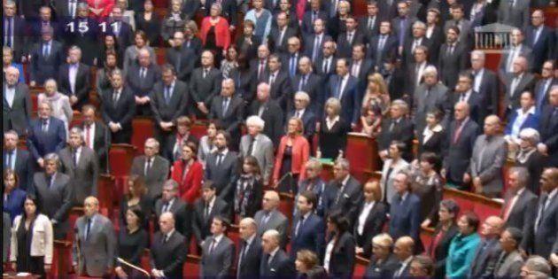VIDEO. Hommage à Charlie Hebdo: l'Assemblée nationale associe minute de silence et
